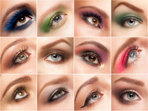 Eye make-up Royalty Free Stock Photos