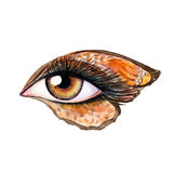 Eye make up Royalty Free Stock Photography