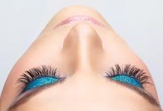 Eye make-up Royalty Free Stock Images