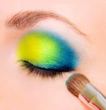 Eye makeup Stock Photography
