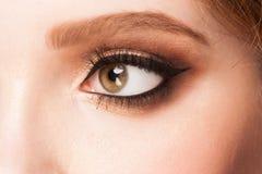 Eye with makeup Stock Image