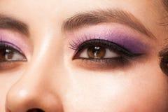 Eye with makeup Stock Photography