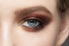 Eye makeup Royalty Free Stock Images