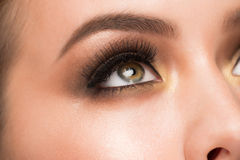 Eye makeup Royalty Free Stock Photos