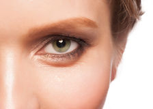 Eye with makeup Royalty Free Stock Image