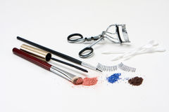 Eye makeup set Stock Images