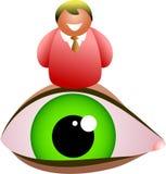Eye man Royalty Free Stock Photography