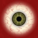 Eye map Royalty Free Stock Image