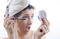 Eye Mascara Stock Photography