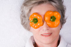 Eye mask Stock Photo