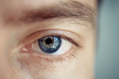 Eye men Stock Photography