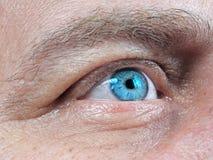 Eye men  human  close-up Stock Images