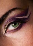 eye målarfärg Royaltyfria Bilder