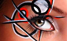 eye mode Fotografering för Bildbyråer