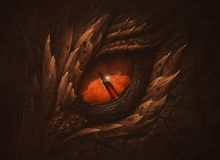 Free Eye Of Fantasy Dragon Royalty Free Stock Photography - 148944837