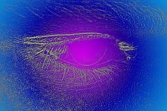Eye Open Stock Photo
