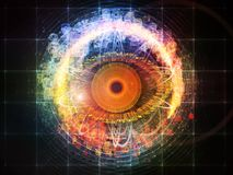 Eye Particle Royalty Free Stock Photo