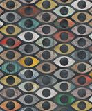 Eye Pattern Royalty Free Stock Images