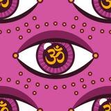 Eye pattern Stock Photography