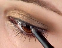 Eye pencil Stock Photography