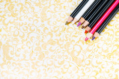 Eye pencils Stock Image