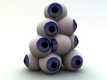 Eye Pile 4 Stock Image