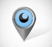 Eye pointer illustration design Stock Photos