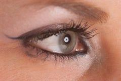 Eye in profile Stock Photo