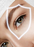 Eye protection Royalty Free Stock Image