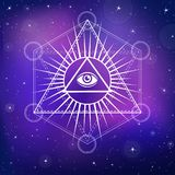 Eye of Providence. Stock Photography