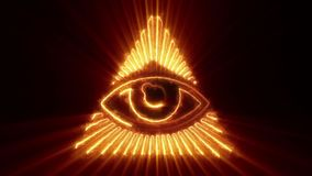 The Eye of Providence Loop stock footage