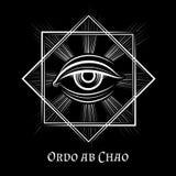 Eye of Providence masonic symbol Stock Image