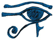 Eye of Ra Stock Image