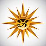 The eye of Ra. Royalty Free Stock Photo
