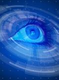 Eye & Radial HUD Interface Elements Stock Photography
