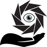 Eye safety royalty free illustration