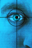 eye scan Stock Images