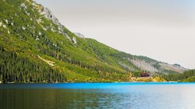 Eye of the Sea lake in Tatra mountains, Poland royalty free stock images