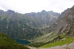 Eye of the Sea, Tatra Mountains, Poland Stock Photography