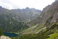 Eye of the Sea, Tatra Mountains, Poland Royalty Free Stock Image