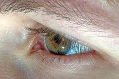 eye serien Arkivbilder