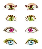 Eye set Royalty Free Stock Photo