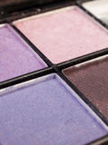 Eye shadow. A close-up of a kit of eye shadow Royalty Free Stock Image