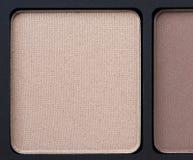 Eye shadow, close-up Stock Photos