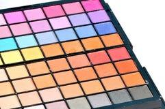 Eye shadow colors Stock Photo