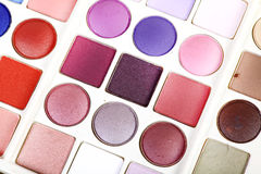 Eye shadow colors Royalty Free Stock Photo