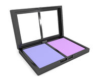 Eye shadow compact. Royalty Free Stock Photography