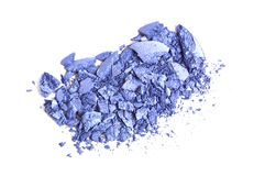 Eye shadow crushed Royalty Free Stock Photography