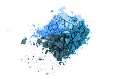 Eye shadow crushed Royalty Free Stock Photo