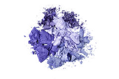 Eye shadow crushed sample Royalty Free Stock Photography